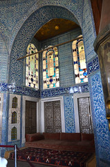 within Topkapi (grannie annie taggs) Tags: blue pattern colours mosaics istanbul topkapi colorphotoaward ringexcellence
