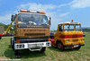 Two Generations of Scammells (Beer Dave) Tags: tractor classic lorry trucks cabs artic commercials scammell hgv