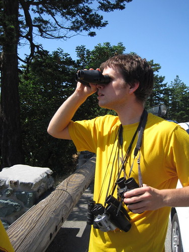 My Brother -- the binocular man