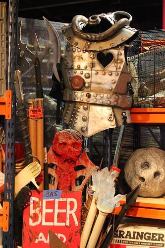 Halloween Horror Nights props