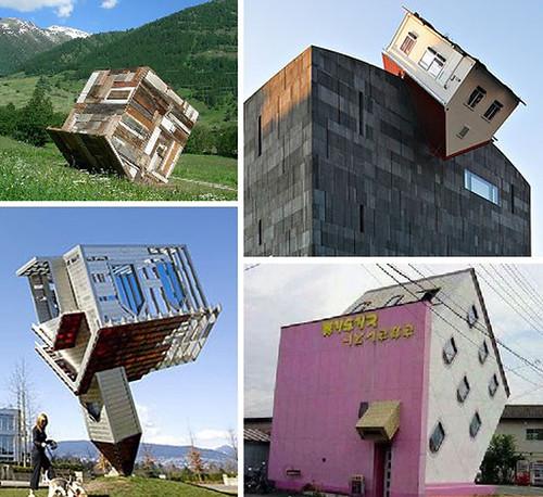 Obras arquitectonicas [Casas al revez]
