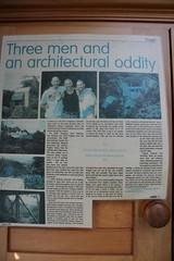 Three men and an architectural oddity (Vaughanoblapski!) Tags: news article wellington img homestay koromiko
