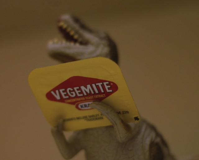 Vegemite Dinosaur