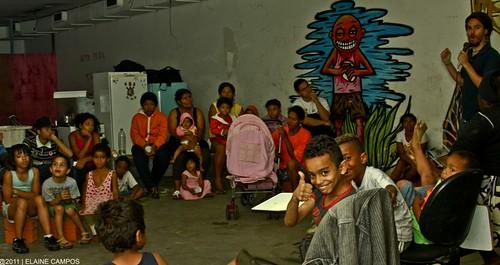 1º Sarau da Ocupação Consolação (SP) | 9 de novembro de 2011.