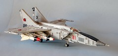 foxbat (psiaki) Tags: cold war fighter lego union jet 25 soviet mig interceptor moc foxbat