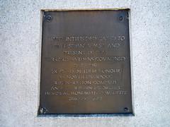 Photo of Bronze plaque number 8233