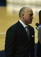 Chambers' Postgame Interview (acaben) Tags: basketball pennstate collegebasketball ncaabasketball pureenergy psubasketball pennstatebasketball coachchambers patrickchambers