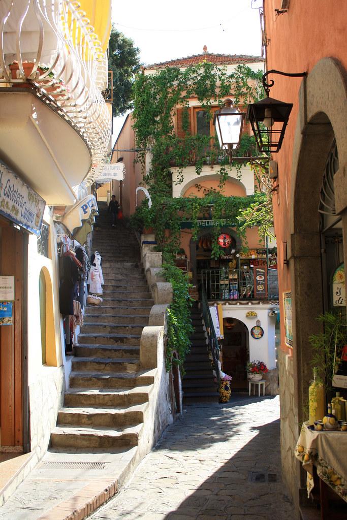 Town center Positano