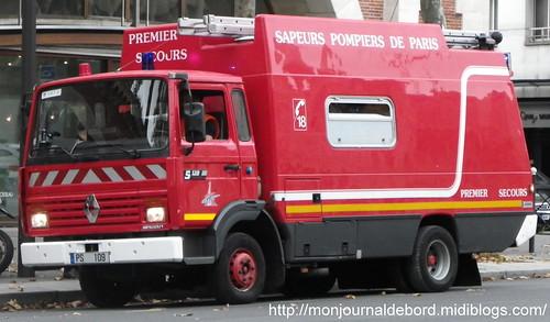 Véhicule Sapeurs Pompiers de Paris 4