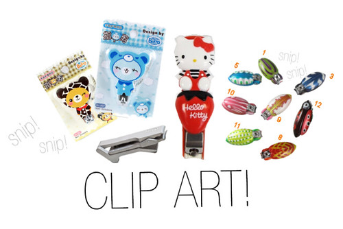 Clip Art: Bizarre and Unusual Nail Clippers That Actually Exist