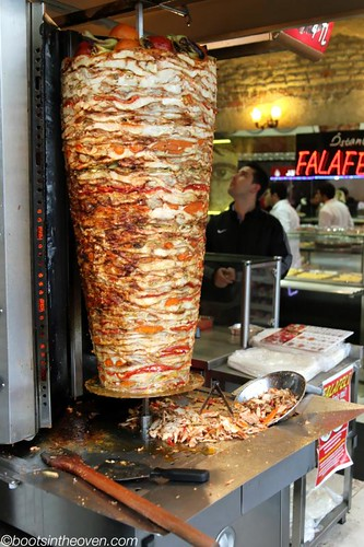 One of many doner spits