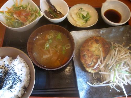 豆腐ハンバーグ@ダイニングMOKO(新江古田)