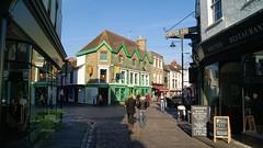 Pedestrian streets in Canterbury