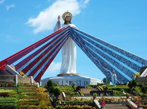 The Divine Mercy Statue