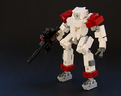 Recon Hardsuit (Cam M.) Tags: red anime dark cool lego awesome hard suit epic mecha mech somewhat hardsuit