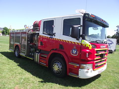 Tasmania Fire Service - Launceston 1.1 (SierraTAS) Tags: blue red rescue truck lights firetruck emergency siren lts services scania firerescue tfs tasmaniafireservice