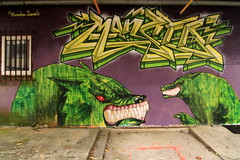 monsta x loomit (Luna Park) Tags: green monster germany munich graffiti lunapark monsta kunstparkost kultfabrik loomit