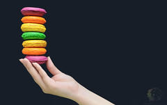 Over the rainbow macarons (Rawan Mohammad ..) Tags: photography nikon photographer photos mohammad rn  2011 rawan     rnona
