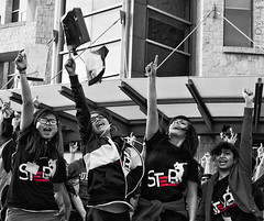 Step Crew BBM Party Rock Flashmob (Hung (on break, see Instagram: @hungmaiphotography) Tags: queens bbm stepcrew queensuniversitycampus