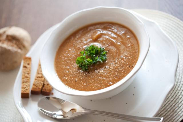 Soupe d'hiver aux légumes anciens