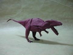 Origamido Giganotosaurus (shuki.kato) Tags: paper origami dinosaur fold kato shuki theropod giganotosaurus origamido giganoto