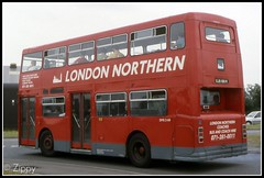 London Northern (Zippy's Revenge) Tags: bus london daimler fleetline londontransport londonbuses dms londonnorthern dmsclass ojd168r dms2168