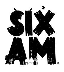 Six AM T-Shirt Design (lgnore) Tags: winter black shirt illustration logo design am font typo six ignore