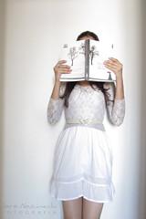 {9/365} The book thief (~Miss Croft) Tags: girl book dress livro vestido 365days misscroft thebookthief 365project projeto365 ameninaqueroubavalivros saranascimento