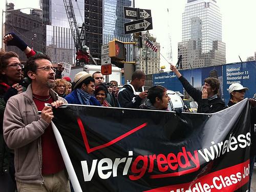 Very Greedy Verizon-OWS
