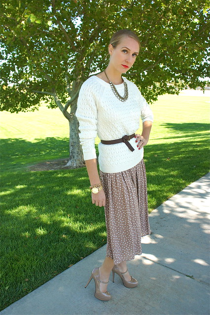 40's style fall outfit