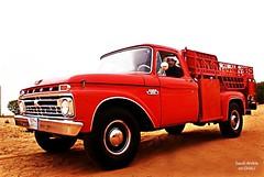 1966 FORD F350 TRUCK  KSA (mr.GHALI) Tags: ford truck pickup 1966 66 f350 ksa اثري هاف وانيت فورد ونيت كلاسيكي لوري mrgali