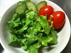 朝食サラダ(2011/10/8)