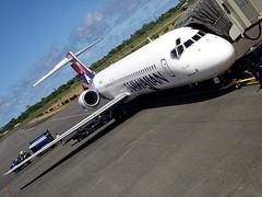 Our ride to HNL.. / Puaiohi (boeing 717) Hawaiian Airlines / N488HA () Tags: vacation holiday tarmac clouds plane airplane island hawaii fly inflight airport paradise aircraft flight wing jet aeroporto aerial lei ito hawaiian shaka greetings bigisland hilo ha boeing flughafen 717 aeropuerto runway rtw isla aloha kona aereo hangloose airliner vacanze avion mahalo myride roundtheworld 727 globetrotter airplanewing luchthaven areo aroport jetwing boeing717 hawaiianairlines b717  tarmacadam 10days 717200 worldtraveler hiloairport hilointernationalairport  intlairport ario  shakasign puaiohi   n488ha hawaii2011 hilointlairport