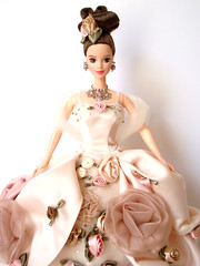 Antique Rose Barbie - 1996