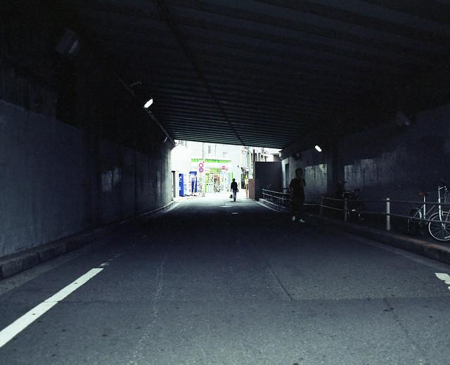 道路下の闇