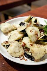 ナスの山椒揚げ, 唐朝刀削麺, 成田空港