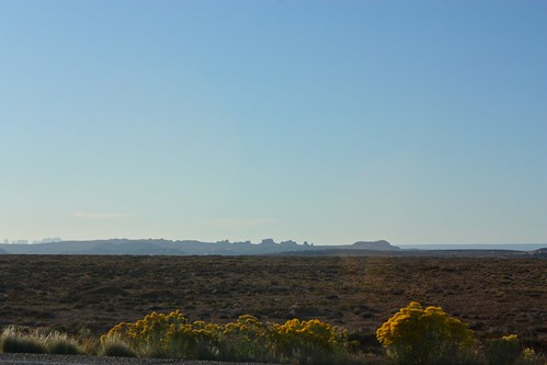 Monument Valley from the east