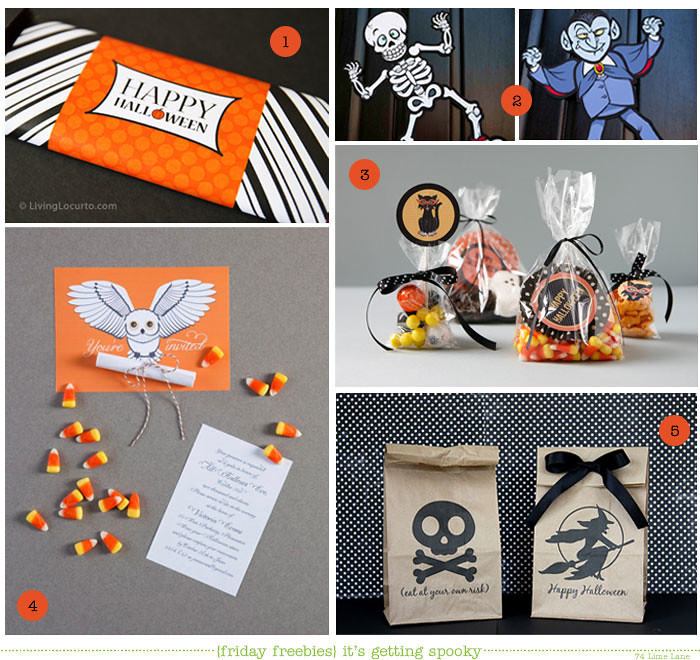 {friday freebies} getting spooky