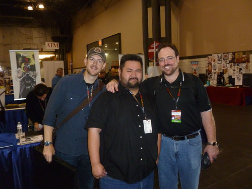 Jason Wood Comics me With Jason Wood And David