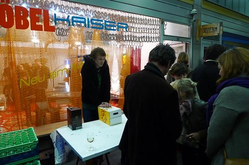 Ausstellung Möbel Kaiser in der Kaiserpassage - Oktober 2011