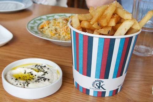 Chips with tarama