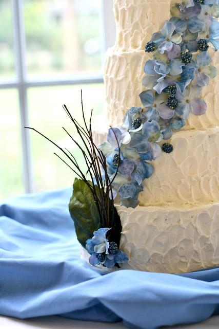 Lovebird Wedding cake 2