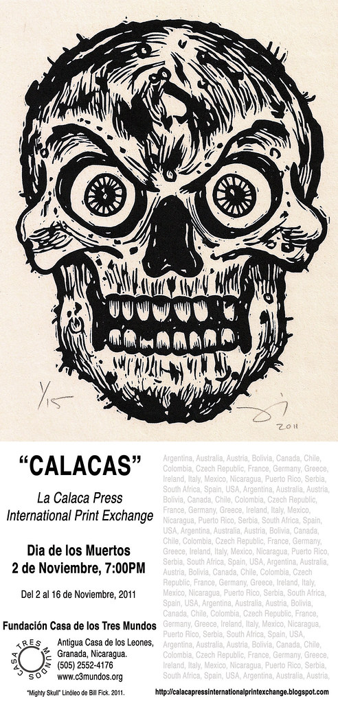 La Calaca Press at Casa 3 Mundos