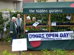 Hidden Gardens Volunteers support the Plant Sale