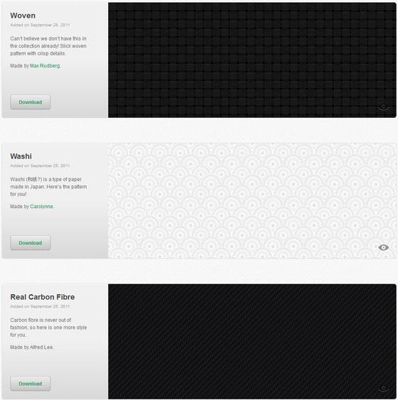 patterns para diseñadores