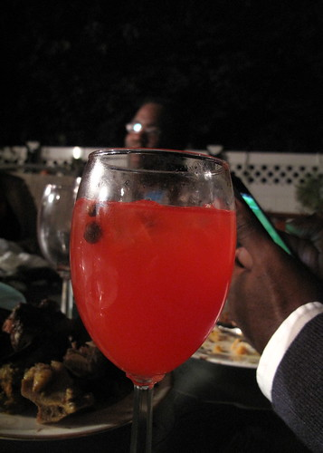 Very potent rum punch