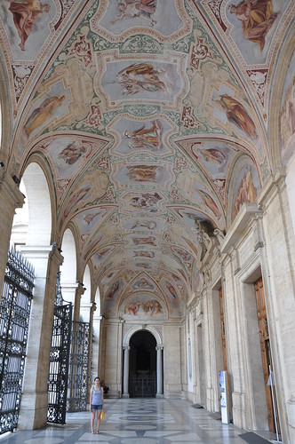 The entryway to the Basilica di San Giovanni in Laterno