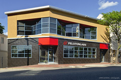 Peloton Labs (coffeeandbeer80) Tags: red building modern corner portland office space maine architect storefront labs zigzag sawtooth archetype peloton communal coworking bramhallsquare