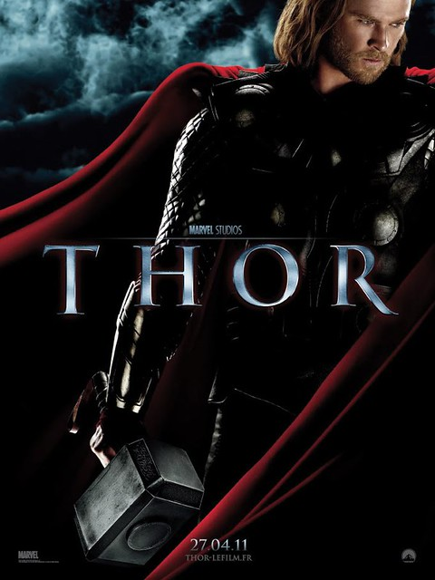 Thor French Poster