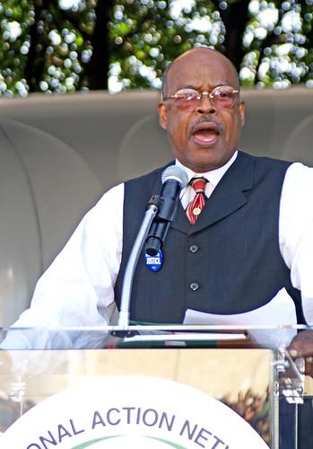 Walter Andrews at MLK March